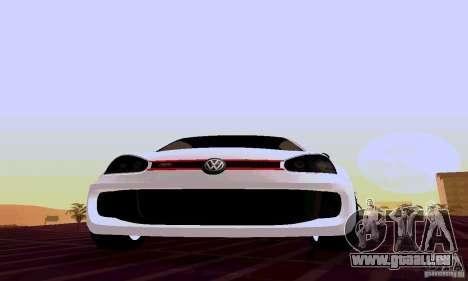 Volkswagen Golf 5 GTI W12 pour GTA San Andreas vue arrière
