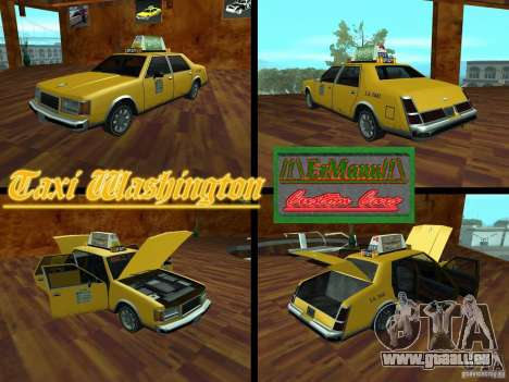 Taxi Washington für GTA San Andreas
