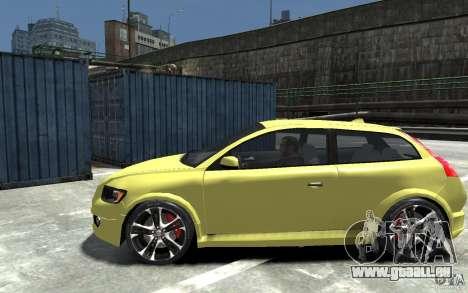 Volvo C30 T5 R-Design 2009 für GTA 4 linke Ansicht