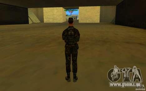 HQ skin Army pour GTA San Andreas cinquième écran