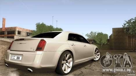Chrysler 300C V8 Hemi Sedan 2011 für GTA San Andreas linke Ansicht