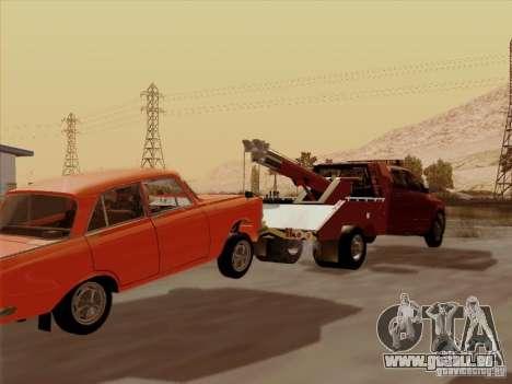 Dodge Ram 3500 TowTruck 2010 für GTA San Andreas Rückansicht