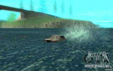 Admiral Boat pour GTA San Andreas