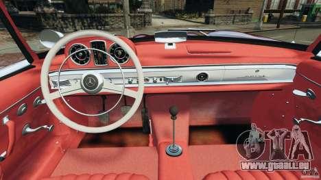 Mercedes-Benz 300 SL Roadster v1.0 pour GTA 4 Vue arrière