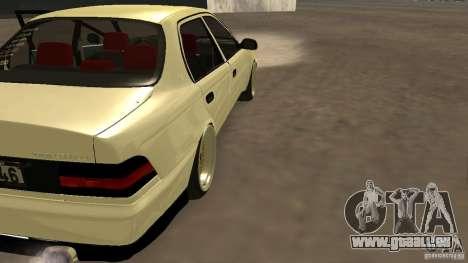 Toyota Corolla Tuned für GTA San Andreas linke Ansicht