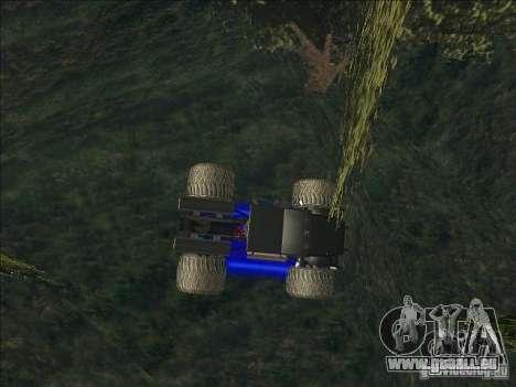 Monsterous Truck für GTA San Andreas linke Ansicht