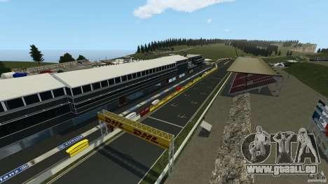SPA Francorchamps [Beta] pour GTA 4 secondes d'écran