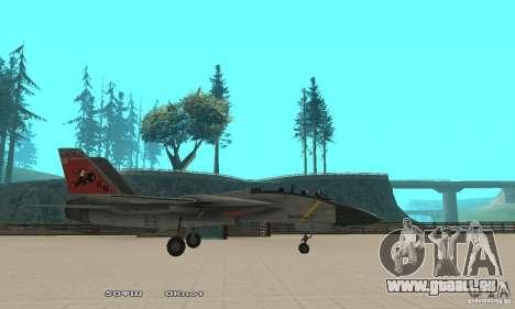 F14W Super Weirdest Tomcat Skin 2 pour GTA San Andreas laissé vue