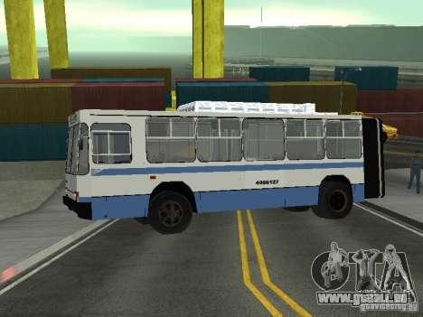 YUMZ T1 für GTA San Andreas zurück linke Ansicht