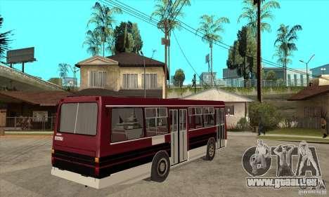 LAZ-4202 pour GTA San Andreas vue de droite