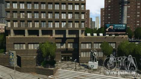Remake second police station pour GTA 4