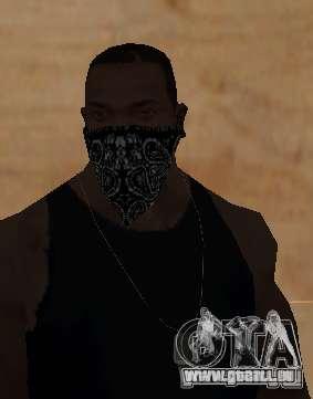 New Bandanas Style pour GTA San Andreas cinquième écran