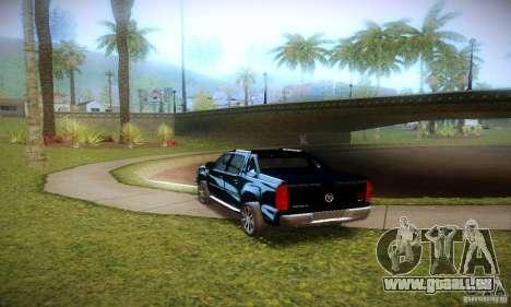 Cadillac Escalade Ext für GTA San Andreas Rückansicht