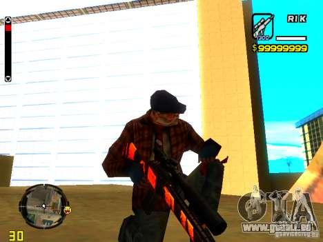 Tiger wepon pack für GTA San Andreas her Screenshot