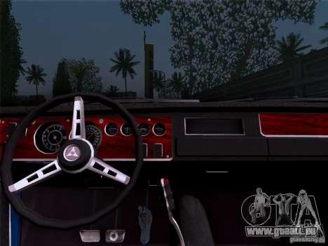 Dodge Coronet Super Bee v2 pour GTA San Andreas sur la vue arrière gauche