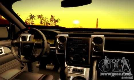 Ford F-150 SVT Raptor V1.0 pour GTA San Andreas vue de côté