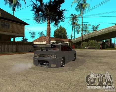 MCC VAZ 2115 pour GTA San Andreas sur la vue arrière gauche
