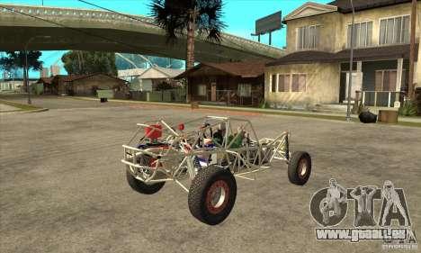 Dirt 3 Stadium Buggy für GTA San Andreas rechten Ansicht