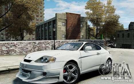 Hyundai Tuscani pour GTA 4