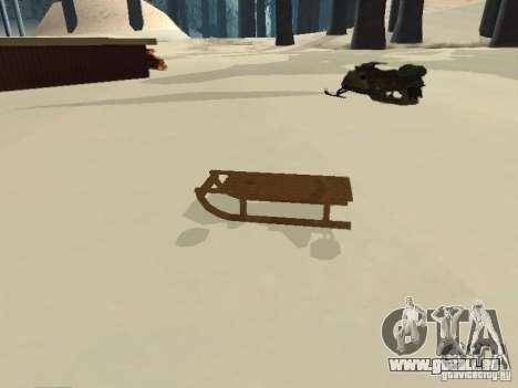 Luge v1 pour GTA San Andreas laissé vue
