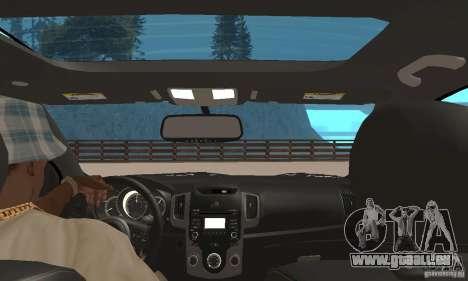 Kia Forte Koup 2010 pour GTA San Andreas vue arrière