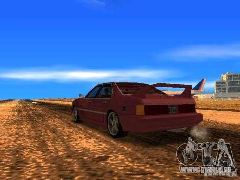 Sentrel Mini Tuning pour GTA San Andreas laissé vue