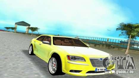 Lancia Nuova Thema für GTA Vice City Rückansicht