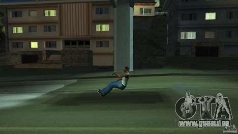 Invisible Blista Compact pour GTA San Andreas vue arrière