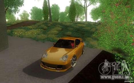 Ruf R-Turbo pour GTA San Andreas laissé vue