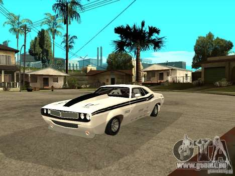 Dodge Challenger Speed 1971 pour GTA San Andreas