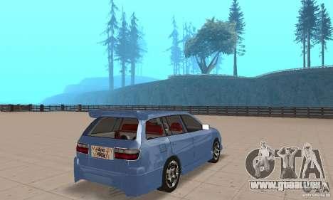 Toyota Carina 1996 pour GTA San Andreas laissé vue