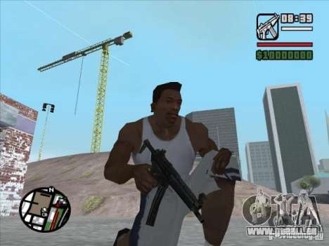 MP5 für GTA San Andreas