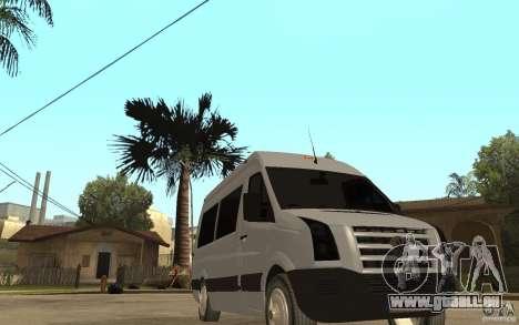 Volkswagen Crafter school bus für GTA San Andreas Rückansicht
