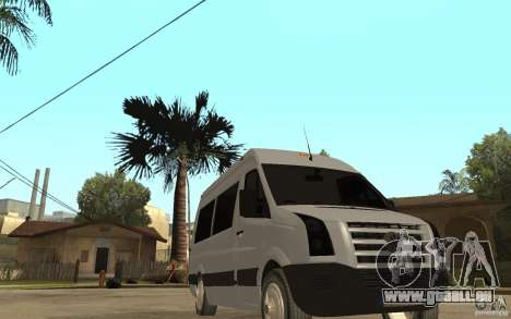 Volkswagen Crafter school bus pour GTA San Andreas vue arrière