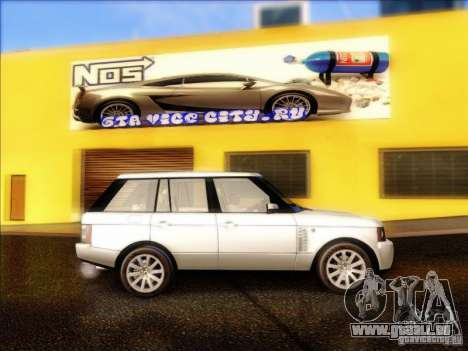 Land-Rover Range Rover Supercharged Series III pour GTA San Andreas vue arrière