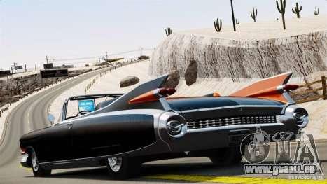 Cadillac Eldorado III Biarritz pour GTA 4 est une gauche