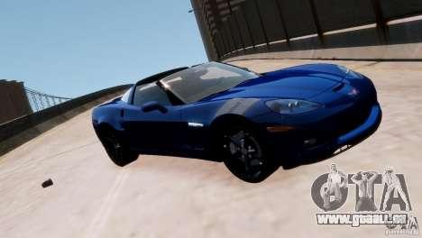 Chevrolet Corvette Grand Sport 2010 für GTA 4 Seitenansicht