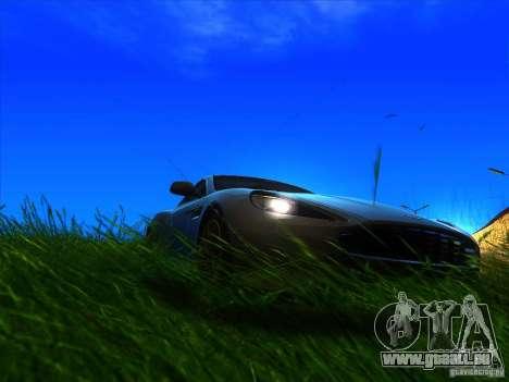 Aston Martin Virage 2011 Final pour GTA San Andreas vue de droite