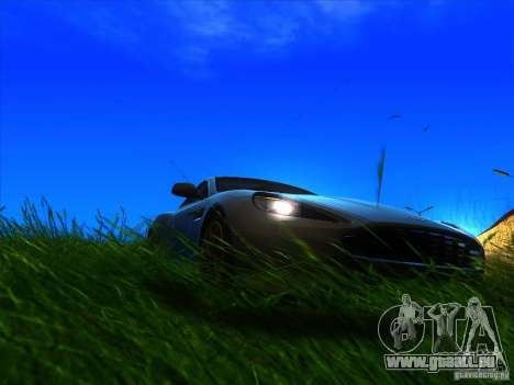 Aston Martin Virage 2011 Final für GTA San Andreas rechten Ansicht