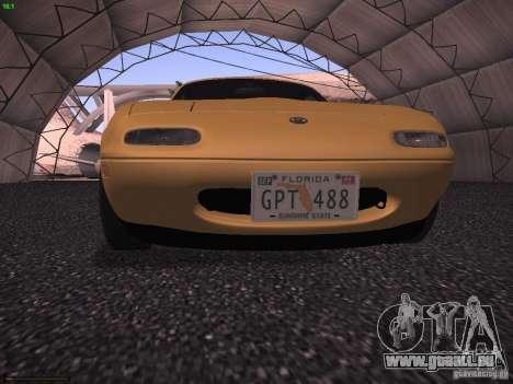 Mazda MX-5 1997 pour GTA San Andreas vue arrière