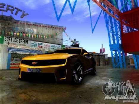 Realistic Graphics HD 2.0 pour GTA San Andreas deuxième écran