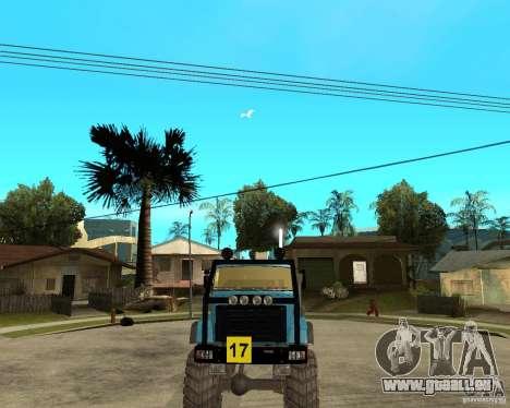 ZIL 4421-RALLYE für GTA San Andreas Rückansicht