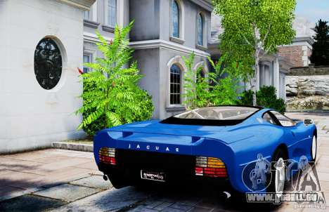 Jaguar XJ 220 für GTA 4 hinten links Ansicht