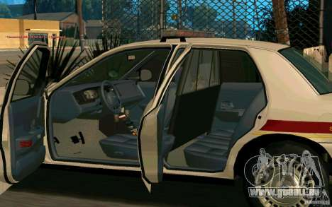 Ford Crown Victoria South Dakota Police für GTA San Andreas Rückansicht