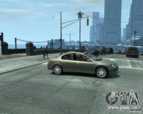Dodge Neon 02 SRT4 pour GTA 4 est un droit