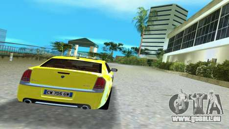 Lancia Nuova Thema pour une vue GTA Vice City de la droite