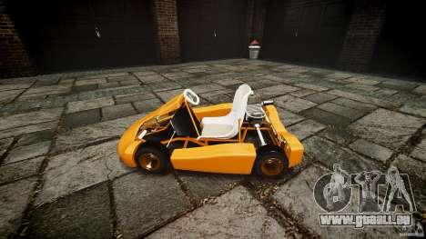 Karting pour GTA 4 Vue arrière