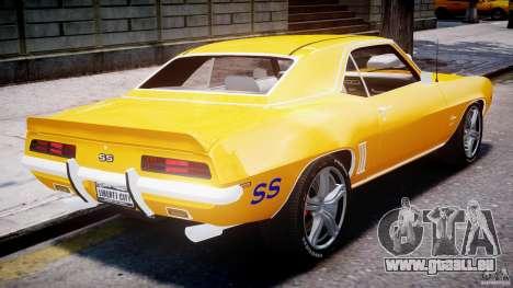 Chevrolet Camaro für GTA 4 Innen