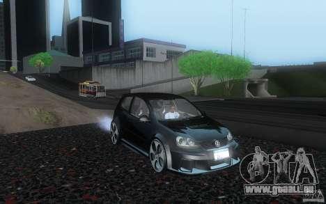 VolksWagen Golf GTI W12 TT Black Revel für GTA San Andreas
