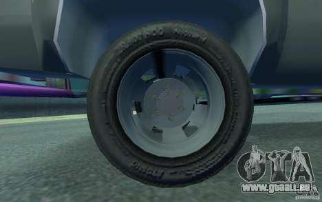 Chevrolet Silverado pour GTA 4 est une vue de l'intérieur